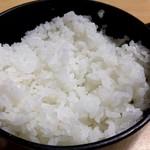 志津可 - かば焼き定食のご飯