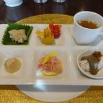 SESSION - 前菜六種