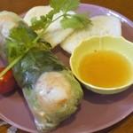 ウィンズ - 生春巻き=ランチの前菜