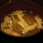 地蔵 - 味噌汁