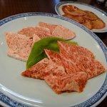ボンボン - 和牛上カルビ(塩焼)と和牛上ロース(塩焼)とタン塩