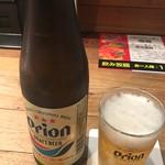 58180555 - オリオン瓶ビール 550円(税込)