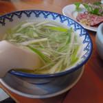 牛たん炭焼き 利久 - スープ