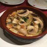 スペインクラブ銀座 - アヒージョ マッシュルーム