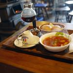 コロボックルヒュッテ - ボルシチ&サイフォンコーヒー~☆