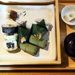 ゐざさ - 名産寿司盛り合わせ