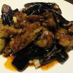 台湾料理 百香軒 - 乾煸茄子