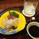 和菜 蔵 - お造り盛り合わせは