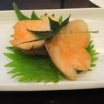 和菜 蔵 - 煮含めたあん肝 with 柚子胡椒