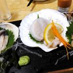 わいわい - 料理写真:貝づくし三種盛り