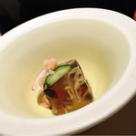 木曽路 - 口どりの煮こごり 蟹