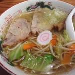 焼肉大将 - 塩ラーメン650円
