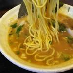 麺家チャクリキ - 1610 チャクリキ 和風豚骨@700円 麺が中太加水高くモチモチです