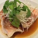 翠蓮 CHINESE RESTAURANT - 白身魚の蒸し物(小)
