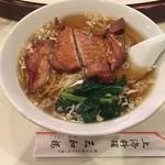 三和楼 - 2016年10月 排骨麺