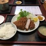 萬清 - 「特選豚横綱ロース」2,160円