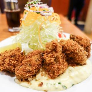 レストラン・サカキ - 料理写真:牡蠣フライ