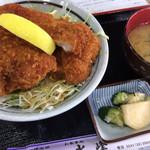 水峰 - ソースカツ丼(ロース) ¥880
