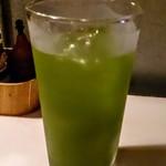 かすり - 緑茶ハイ