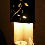 珈舎 - 壁の照明