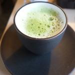 Salon de KANBAYASHI - 神林春松本店抹茶使用・ロイヤル豆乳抹茶ラテ