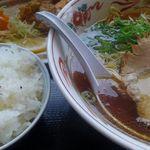 ラーメン王国夢吉 - 料理写真:大阪風