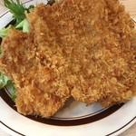 酒場TORA - ジャンボチキンカツ定食