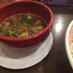 山麺 - 辛つけ麺タレ