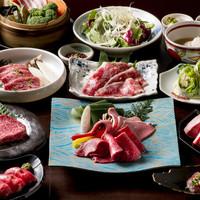 焼肉居酒家 韓の台所 - 山形牛「雅」コース 7,000円+税