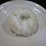 レッドチリ - 料理写真:ライス