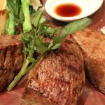 RRR KOBE Beef Steak - お肉★★★