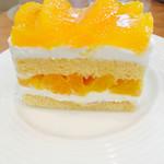 58204102 - オレンジのショートケーキ