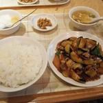 中華料理福臨門 - 2016/4 野菜と豚の旨煮