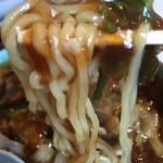すたみならーめん えむず - 【2016.10.9】加水率高めのモッチリ太麺‼︎