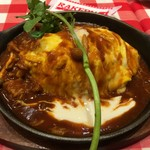 ラケル - 牛肉とキノコのごちそうシチューオムライス