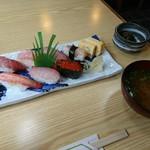 寿し松 - 料理写真:生寿司(松)2160円