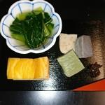 Kagurazakamaeda - 旬菜