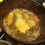 喜久鮨 - 旬の魚のらんち  秋刀魚のつみれ鍋