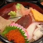 喜久鮨 - 旬の魚らんち  ちらし寿司