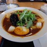 お食事 風の寄り道 - チキン野菜スープカレー