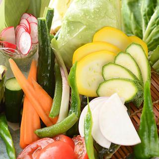 色とりどりの新鮮な湘南野菜!
