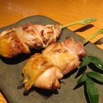 焼き鳥 鳥抱月 - 青森シャモロック、比内地鶏