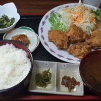 燦家-とり唐定食(ごはん大)