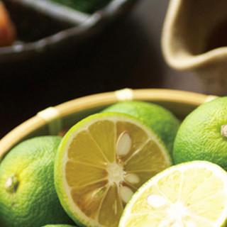 徳島県産の「だいだい」を使った、こだわりの『自家製ポン酢』