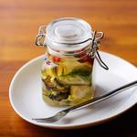 レア仕立て 牡蠣のディルオイル漬(牡蠣 4 個分)