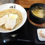 麺匠 中うえ  - 淡麗つけ麺