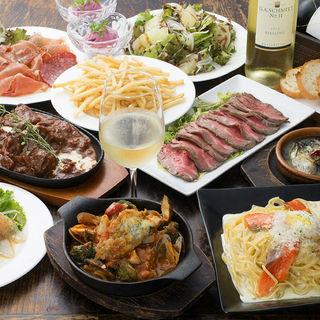 【コースもお得】種類が豊富でこだわった料理に飲み放題まで!