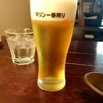 古奈屋 - グラスビール