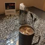 アイアンカフェ - カフェオレアイスOnテーブル