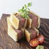 ■牛フィレ肉のクラシックカツサンド 山葵添え
